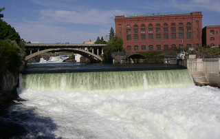Monroe Street Dam on the Spokane River