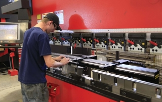 Metal press operator