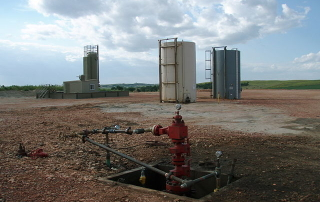 Abandoned Fracking Site