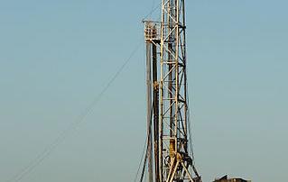 Barnett Shale Drilling Rig
