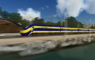 Proposed California high-speed train