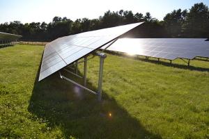 Solar panels (public domain).