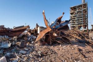 George E Turner Power Plant Demolition