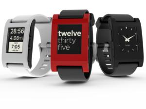 Trio of Pebble Watches
