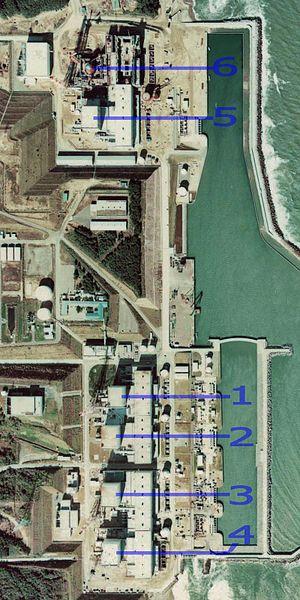 Fukushima Daiichi Nuclear Power Plant in 1975