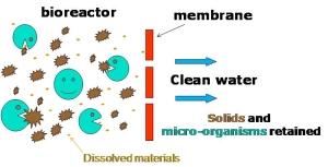 Membrane Bioreactor Schematic