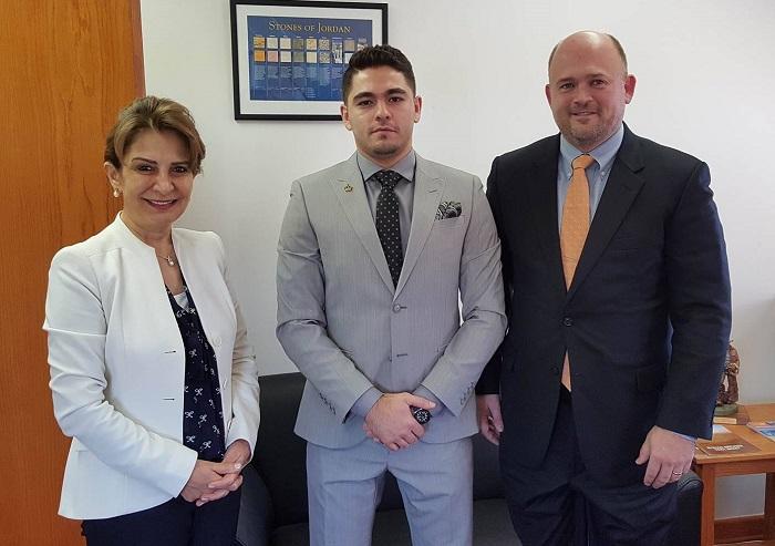 Lispcomb & Alfaouri with Dr Alia Bouran