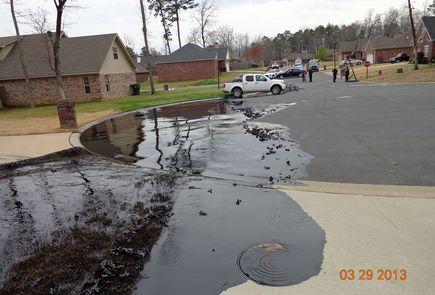 Mayflower oil spill